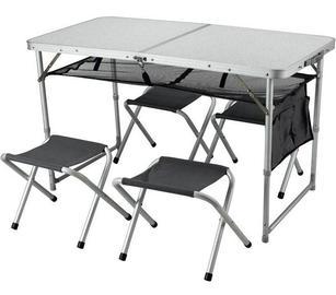 סט גורמה שולחן וכסאות מתקפלים GO NATURE