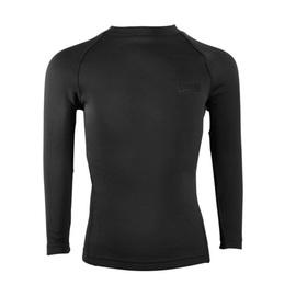 גופיה / חולצה מיקרו פליז תרמית outdoor- שחור