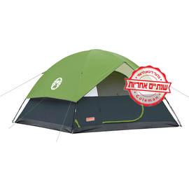 אוהל 6 אנשים קולמן סנדום 6 Coleman Sundome עם כיסוי