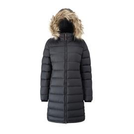 מעיל פוך ארוך לנשים RAB - שחור
