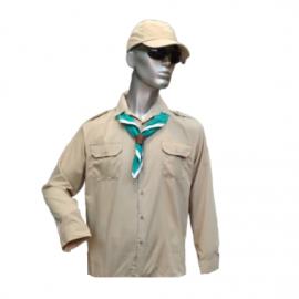 חולצת חאקי דקרון ללא סמלים