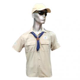 חולצת צופים קצרה 3 סמלים