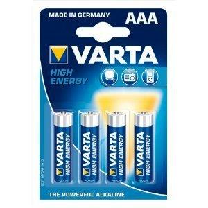 סוללות AAA אלקליין חזקות  VARTA