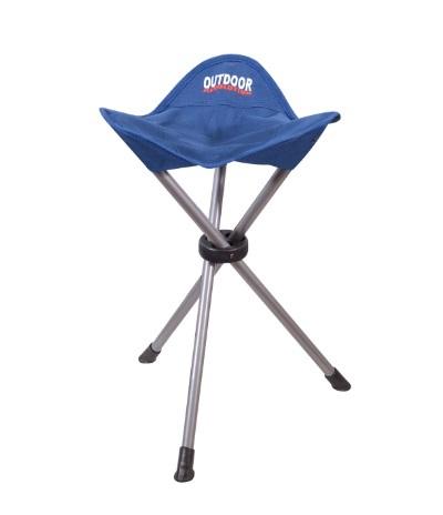 כסא מתקפל 3 רגליים גבוה לטיולים ולמוזיאון