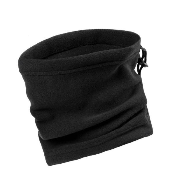 צעיר חם צוואר פליז עבה שחור/זית אאוטדור outdoor - חגור שופס OX-96