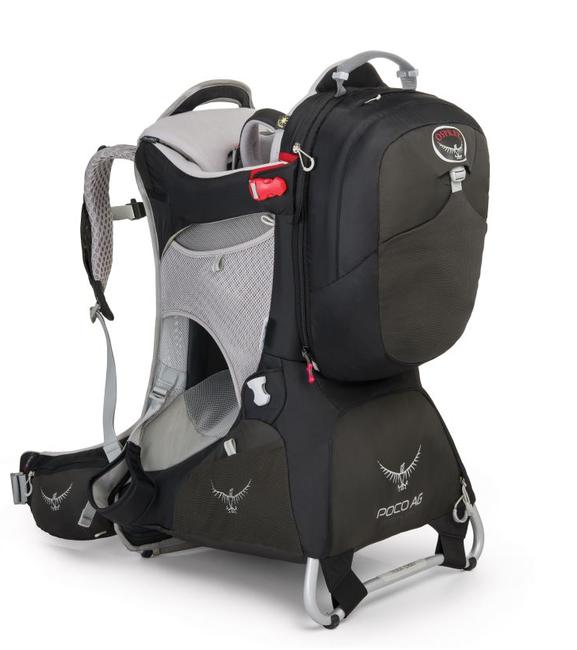 מנשא לתינוק אוספרי פוקו פרימיום Osprey Poco Premium שחור