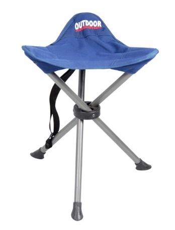 כסא מתקפל 3 רגליים OUTDOOR לטיולים ולמוזיאון