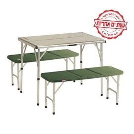 שולחן פיקניק מתקפל עם ספסלים COLEMAN