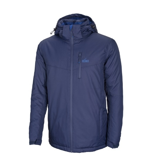 מעיל סקי מבודד עם כובע Outdoor JASPER- כחול