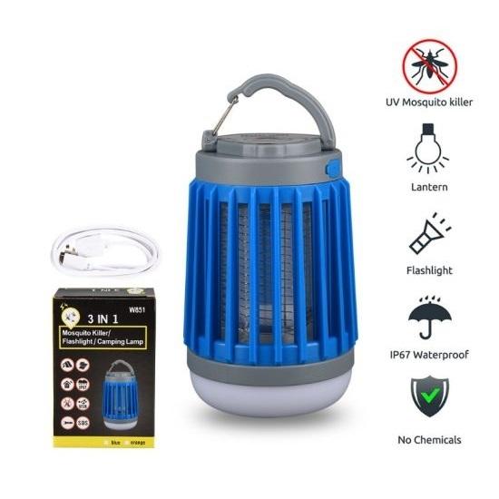מנורת לד קוטלת יתושים