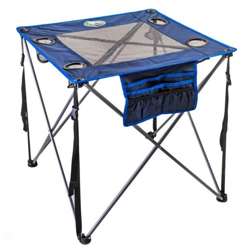 שולחן מתקפל רשת לשטח Go Nature כחול
