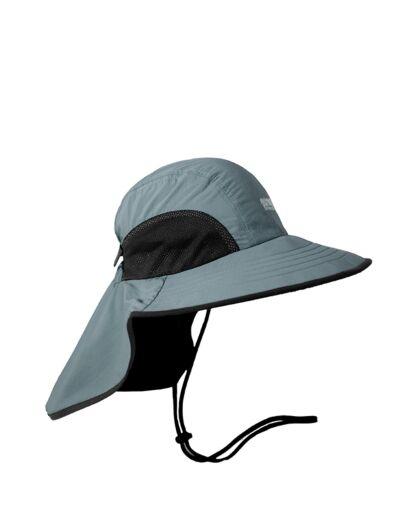 כובע ליגיונר רחב שוליים Outdoor SINAI-אפור