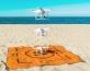 מחצלת ים דוחה חול גודל L
